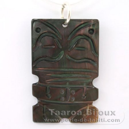 Mother-of-Pearl Tiki - Free Gift for purchases over 250 Euros