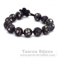 Tahitian Mother-of-pearl bracelet - Length = 19 cm