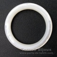 Mother-of-pearl round shape - 30 mm diameter