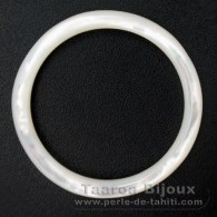 Mother-of-pearl round shape - 45 mm diameter