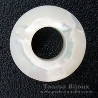 Mother-of-pearl round shape - 12 mm diameter
