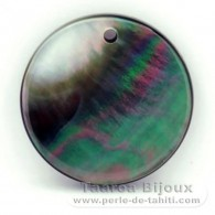Tahitian mother-of-pearl round shape - 20 mm diameter