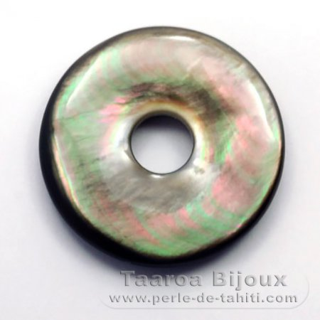 Tahitian mother-of-pearl round shape - 30 mm diameter