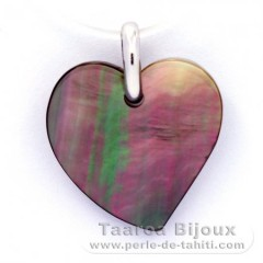 Tahitian Mother-of-Pearl Pendant (Pinctada Margaritifera)