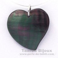 Mother-of-Pearl Heart - Free Gift for purchases over 150 Euros