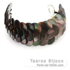 Tahitian Mother-of-pearl bracelet - Length = 21 cm