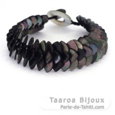 Tahitian Mother-of-pearl bracelet - Length = 20 cm