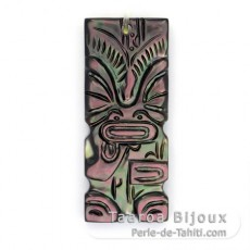 Tahitian Mother-of-Pearl Tiki Pendant