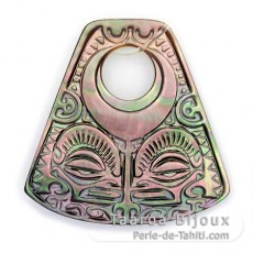 Tahitian Mother-of-Pearl Pendant
