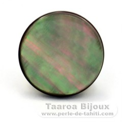 Tahitian mother-of-pearl round shape - 12 mm diameter