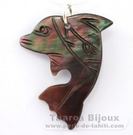 Mother-of-Pearl Dolphin - Free Gift for purchases over 150 Euros