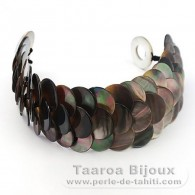 Tahitian Mother-of-pearl bracelet - Length = 18 cm