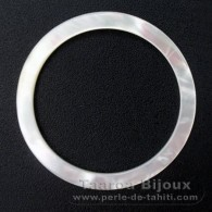 Mother-of-pearl round shape - 42 mm diameter